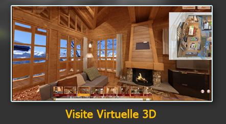 Les chalets du nant giraud 2 4d univers agence 3d for Architecte 3d 2010