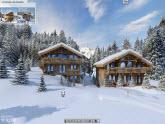4D UNIVERS Visite Virtuelle 3D , Photo panoramique, Le hameau des Seugets à Combloux Visite Virtuelle 3D, Visite Virtuelle chalet