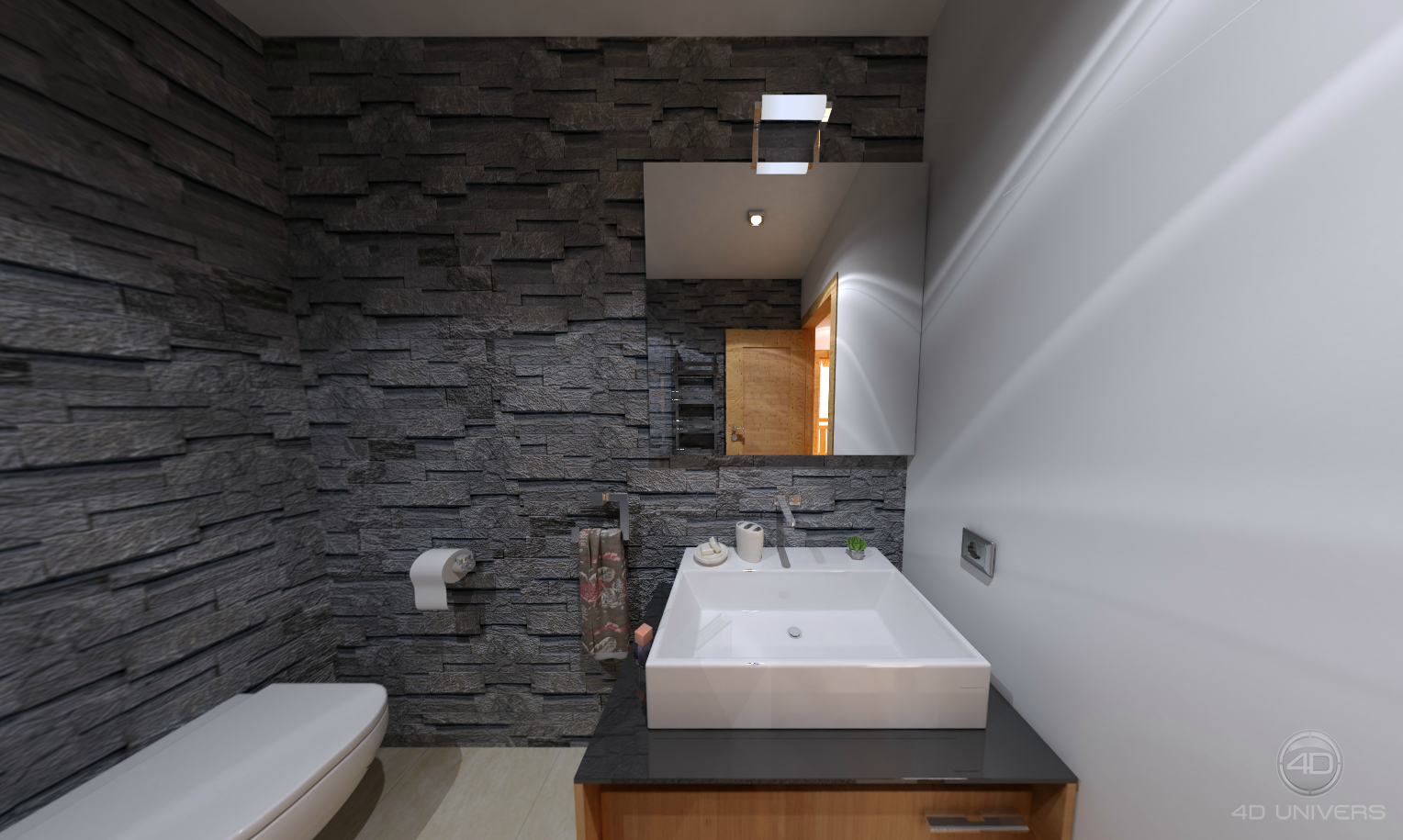 Programme immobili re 3d morzine le chalet altaka for Salle de bain d exception