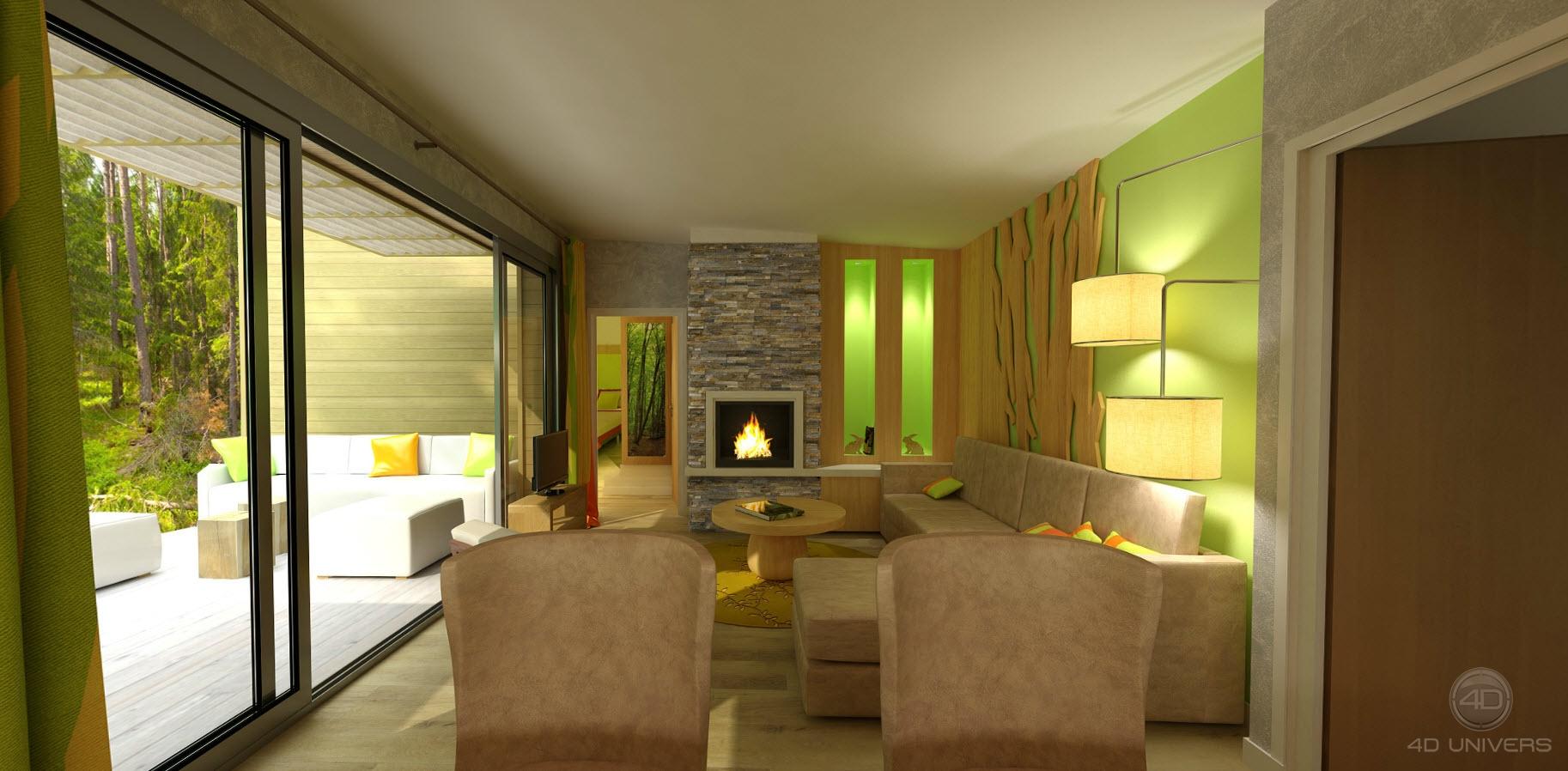 Salon 3d 4d univers studio animation 3d architecture - Mon salon en 3d ...