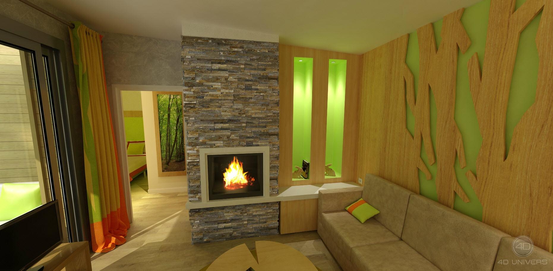 r alisation d une visite virtuelle 3d et perspectives 3d. Black Bedroom Furniture Sets. Home Design Ideas