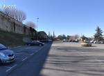 Le parking végétal - Perspective 3D la Coulée Verte à Carpentras - Avant travaux