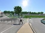 Le pont de l\'Auzon  - Perspective 3D la Coulée Verte à Carpentras - Après travaux