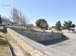 Le parking des amandiers, Perspective 3D la Coulée Verte à Carpentras - Avant travaux