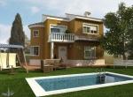 Villa 3D Campused extérieur à Eze