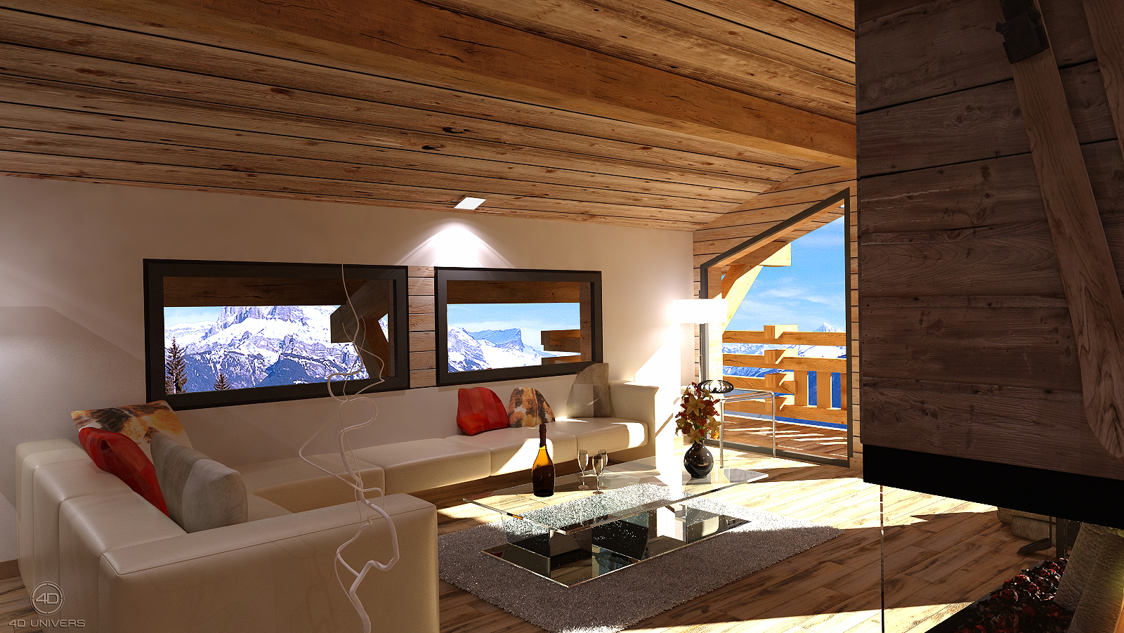 Best decoration interieur chalet pictures for Decoration interieur moderne