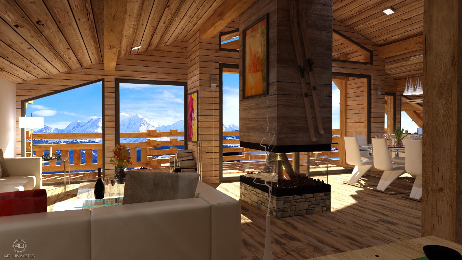 R alisation de films 3d 4d univers studio animation 3d for Job decoration interieur