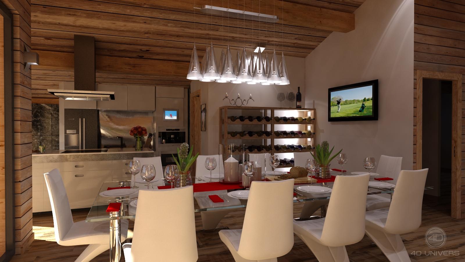 Salon 3d 4d univers studio animation 3d architecture for Simulation 3d salon