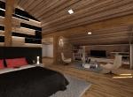 Perspective et décoration intérieur 3D de la Mezzanine B