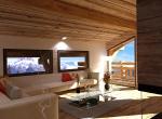 Décoration et perspective intérieur 3D