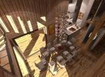Aménagement intérieur 3D du Salon