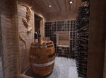 Réalisation et décoration d\'un Cave à Vin 3D