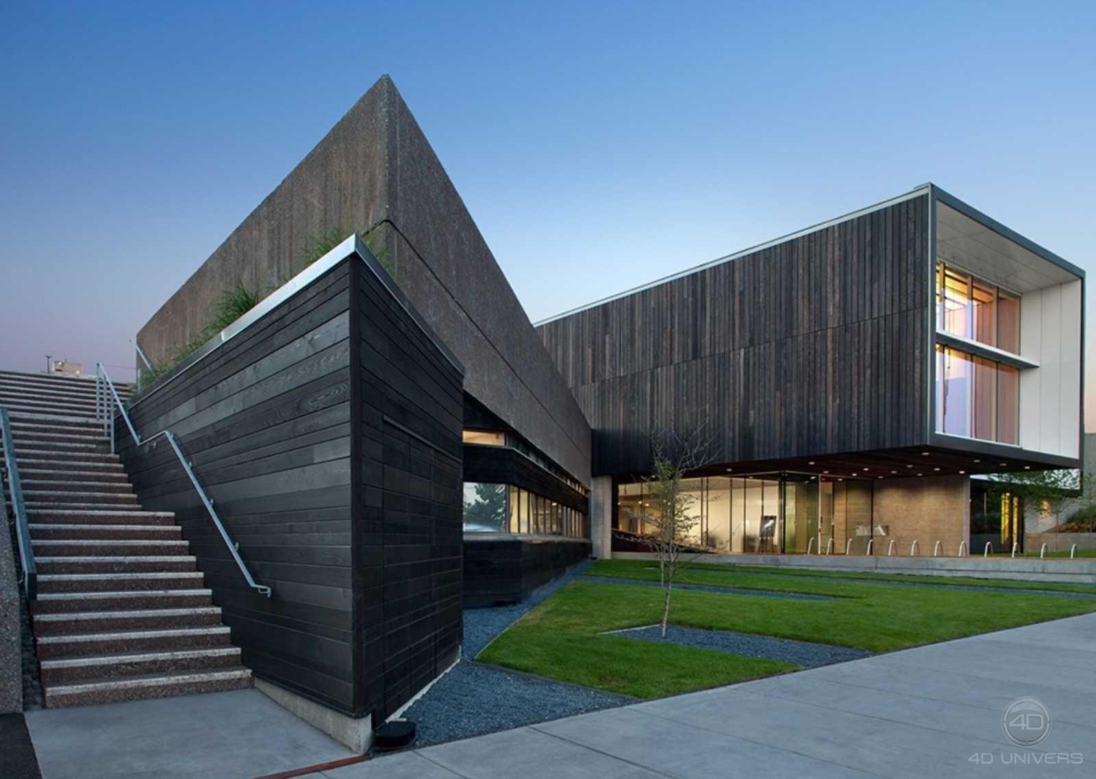 Loft Architecture 3D - Foster& Partners Manufactures de Textiles à Rouen