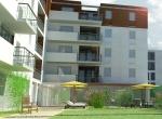Perspective 3D - Programme Immobilier 3D - Mâcon - Les Epicuriales, Jardins 3D