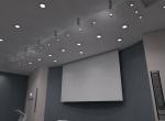 Vue d'intérieur en 3D, salle de conférences 3D, Lyon