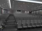intérieur en image de synthèse, salle de conférences 3D, Lyon