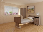 Chambre 3D vue 3  maison de retraite