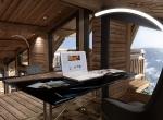 design bureau 3D, chalet 3D La Blanche