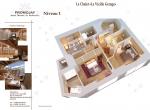 Plan de vente 3D La Vieille Grange, Niveau 1