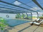 Panneaux photovoltaïques en image de synthèse,studio design 3D à Lyon