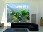 Panneaux photovoltaïques illustration en 3D, studio 3D, Lyon