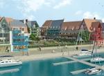 Vue marina Pierre et Vacances : PRESQU\'ILE DE LA TOUQUES, Deauville, Animation 3D Deauville