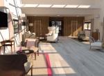 Plan d'intérieur 3D, agence 4D Unives, Lyon