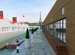 Vue extérieur 3D, Yacht de prestige Paris