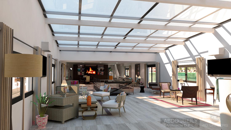 Espace 3d vue 4d univers studio animation 3d for Architecture 3d vue 3d