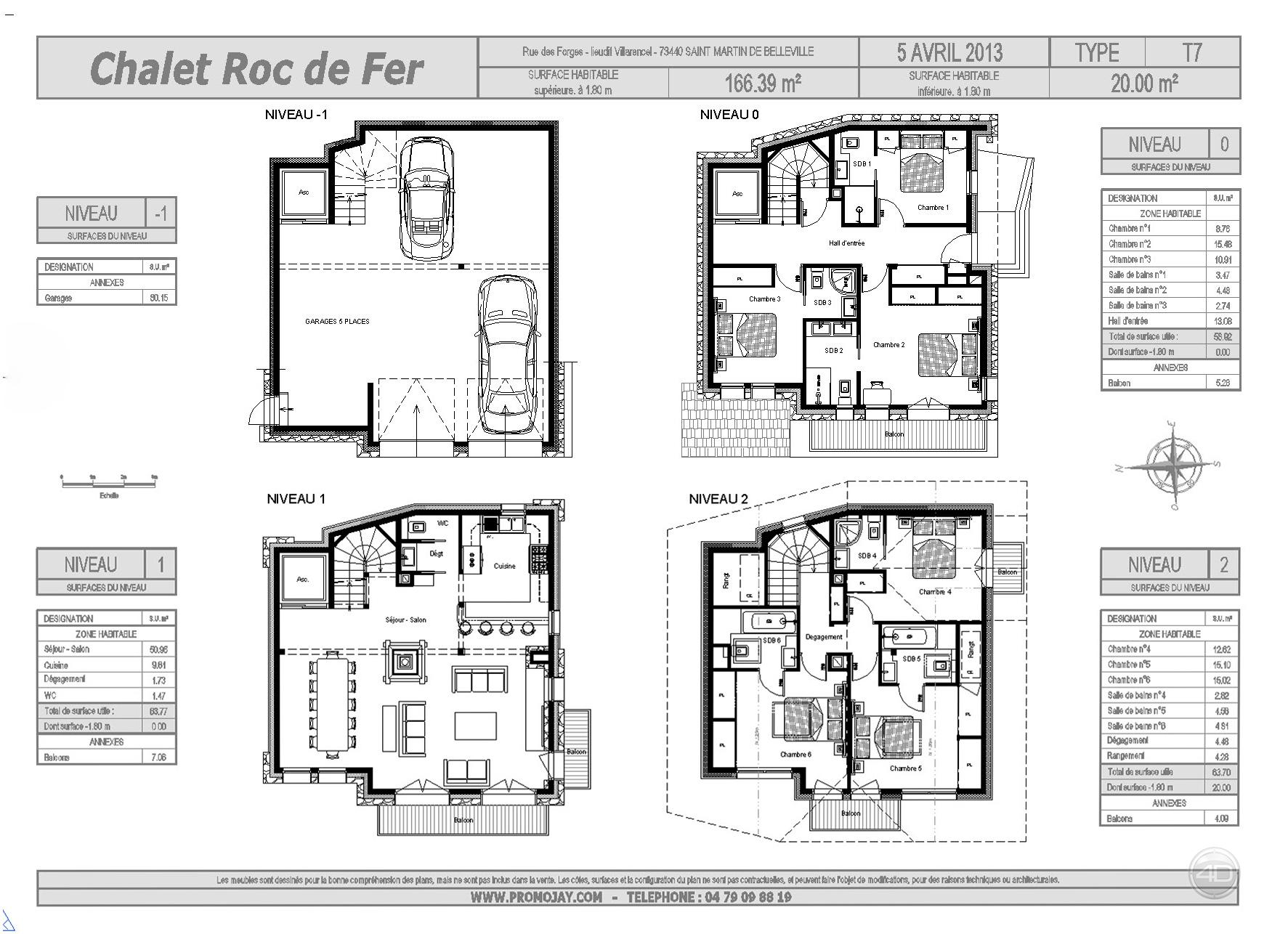 Visite 3d immobilier le chalet roc de fer saint for Une architecte