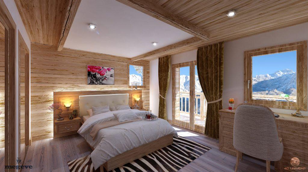 Visite 3d immobilier le chalet roc de fer saint martin de belleville client promojay 4d Perspectives deco
